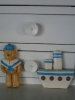 Medo mornar i brodić