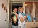zeleni šal i plavi šal :)